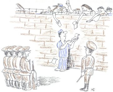 KyrHyzstan cartoon, prisoners in jail